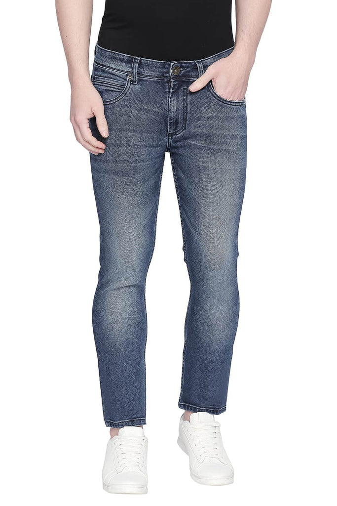 BASICS TORQUE FIT ENSIGN BLUE STRETCH JEANS-20BJN43918 (4527359033425)