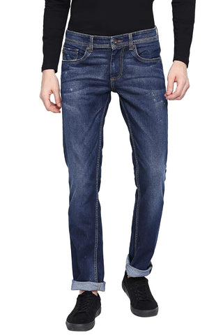 BASICS TORQUE FIT INSIGNIA BLUE STRETCH JEANS-19BJN41358