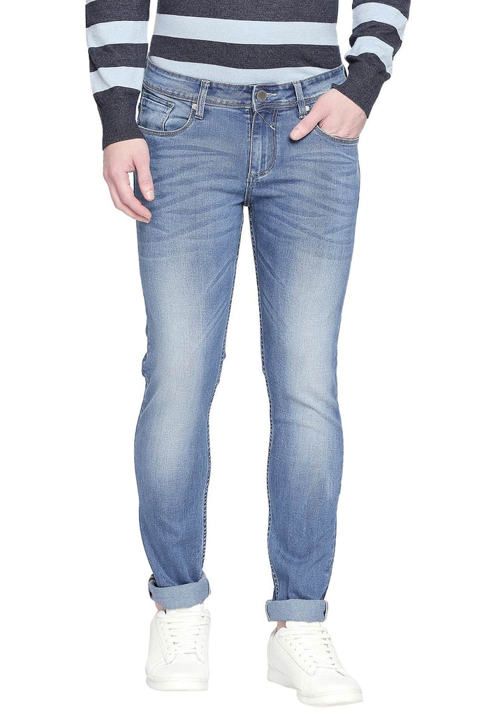 BASICS TORQUE FIT PARISIAN BLUE STRETCH JEANS-20BJN43879 (4527349825617)