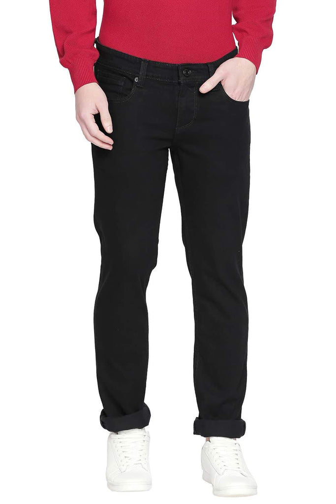 BASICS TORQUE FIT PIRATE BLACK STRETCH JEANS-20BJN43912