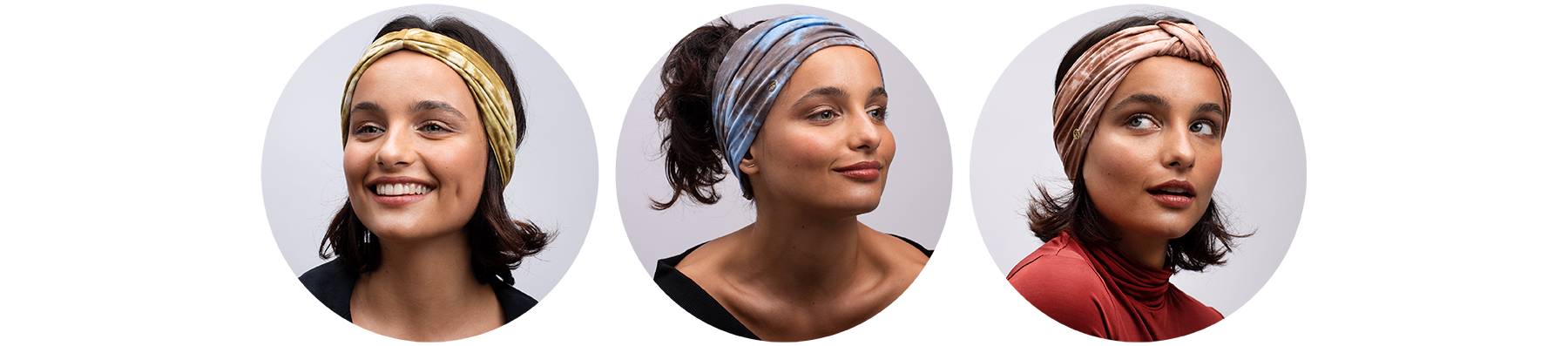 BLOM Tie Dyed Eco Headbands | TENCEL