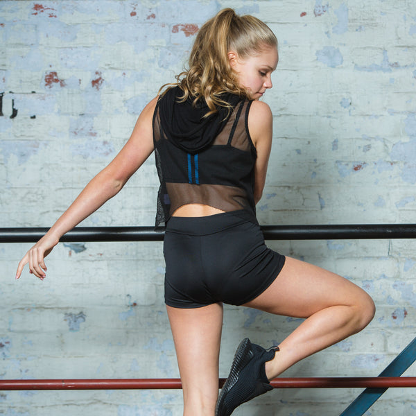 Active Bandeau with Removable Straps