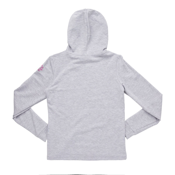 Flo Active Teen Girls Classic Hoody with Dance Vibes Print