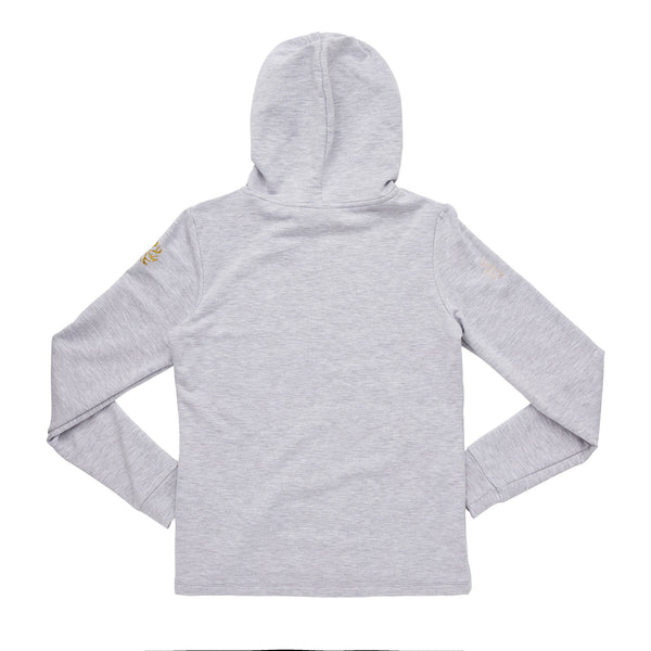 Flo Active Teen Girls Plain Grey Super Soft Hoody
