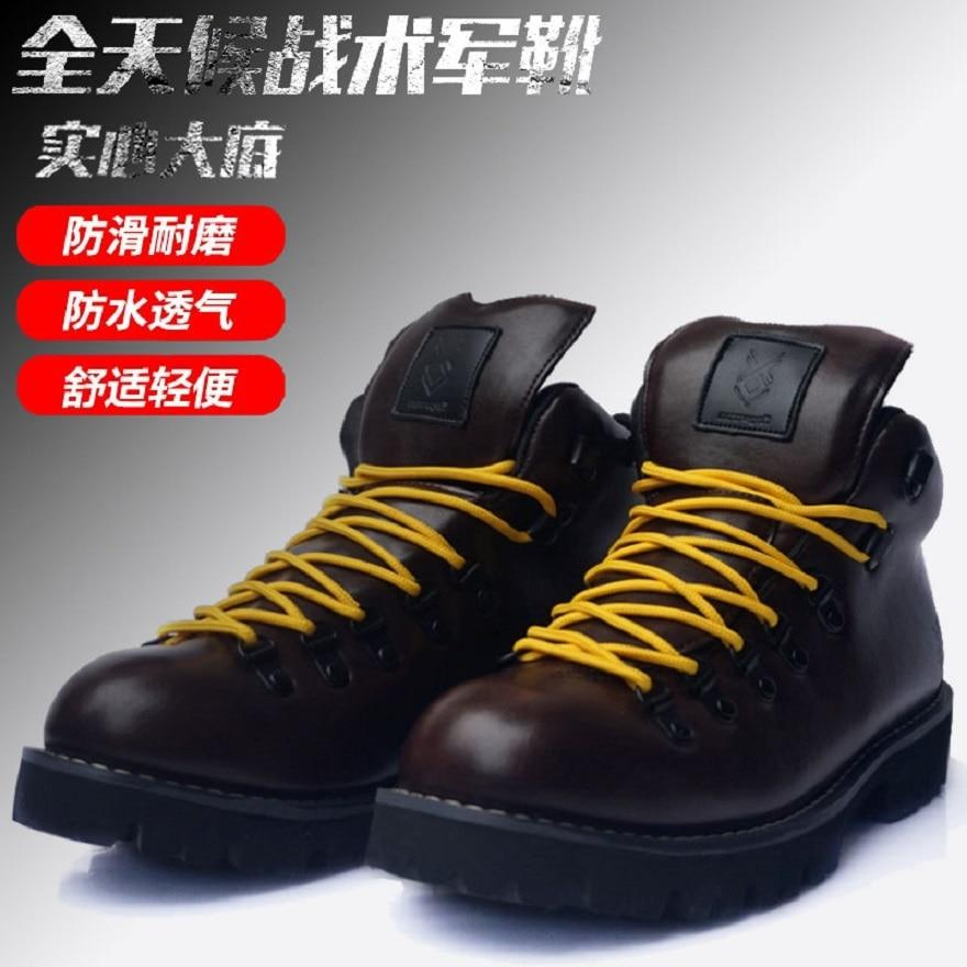 caddis Big Size 35-48 Mens Boots Wear-resisting Non-slip Army Boots Men Waterproof Outdoor Climbing Hiking Boots Men boots