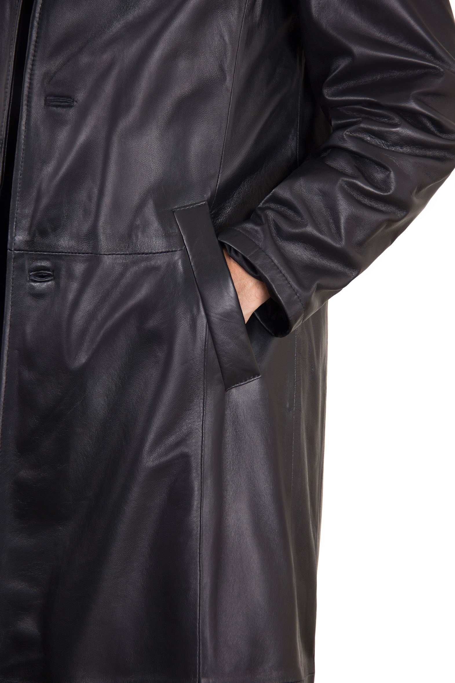 ComiCon Matrix Morpheus Handmade Men's Leather Jacket
