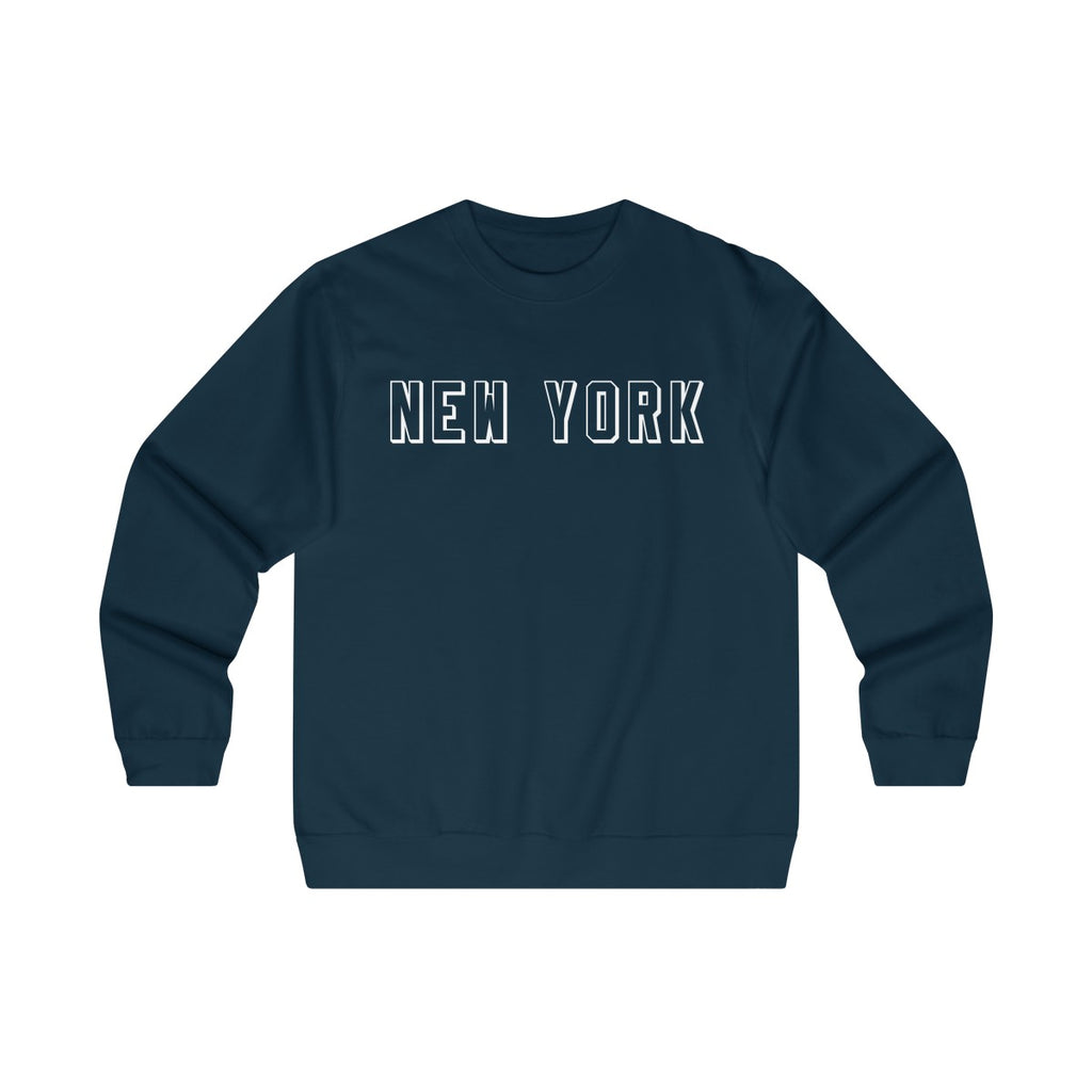 Men's Crewneck Midweight New York Sweatshirt