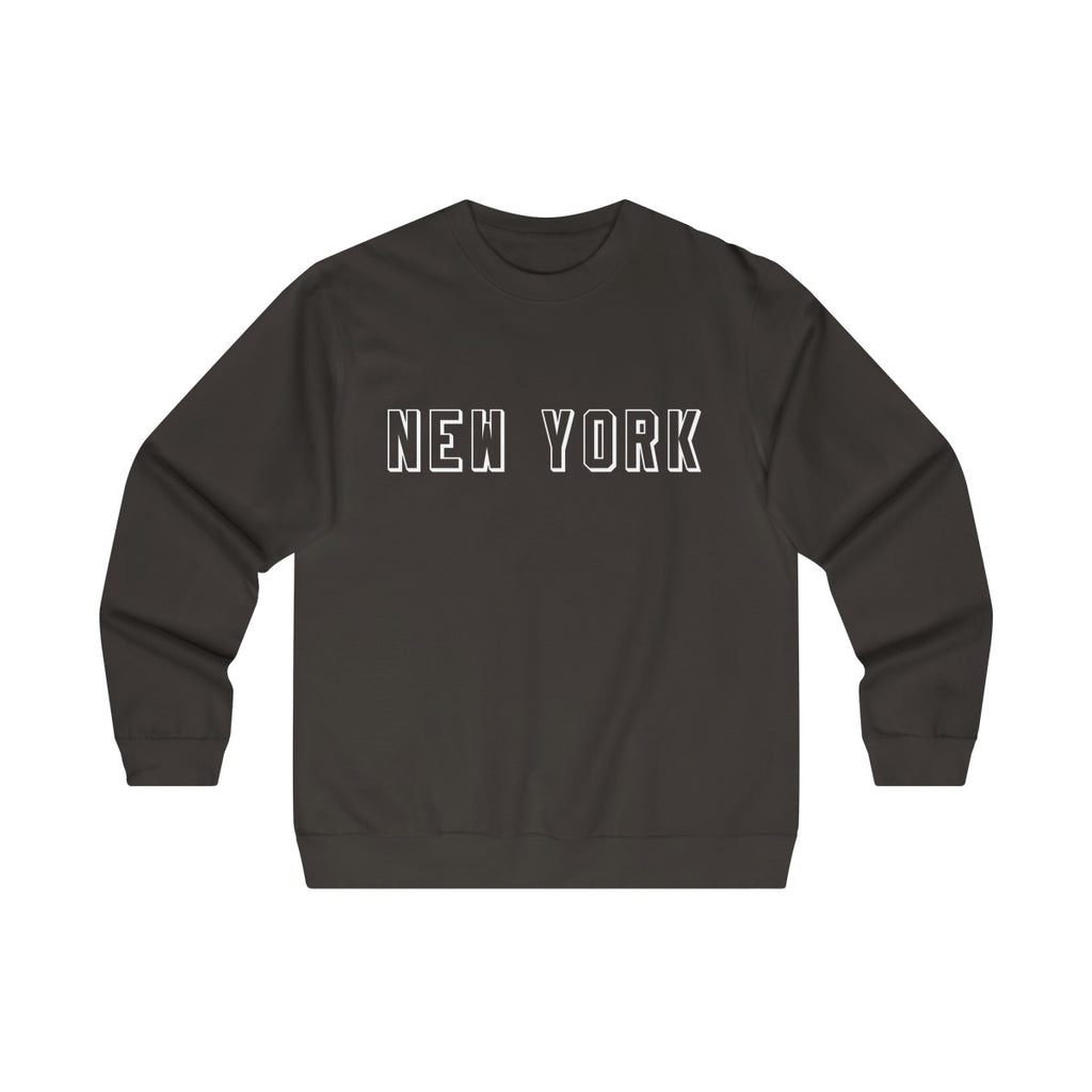Men's Mid-weight Crew-neck New York Sweatshirt