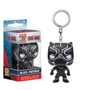 Funkos Pops Action Figure  KeyChain U.S Captain IronMan SpiderMan Wonderwoman Groot Deadpool KeyChain Funkos Pops KeyChain Toys