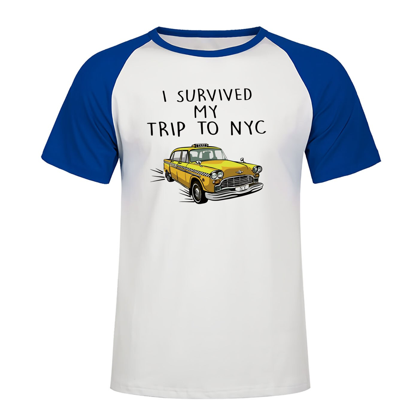 "Marvel Avengers 3 Spider-man Tom Holland  T-Shirts - "" I Survived My Trip To NYC"""