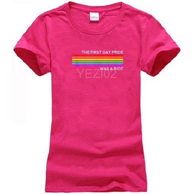 The First Pride Was A Riot -Pride Parade Shirt NYC 50th Anniversary