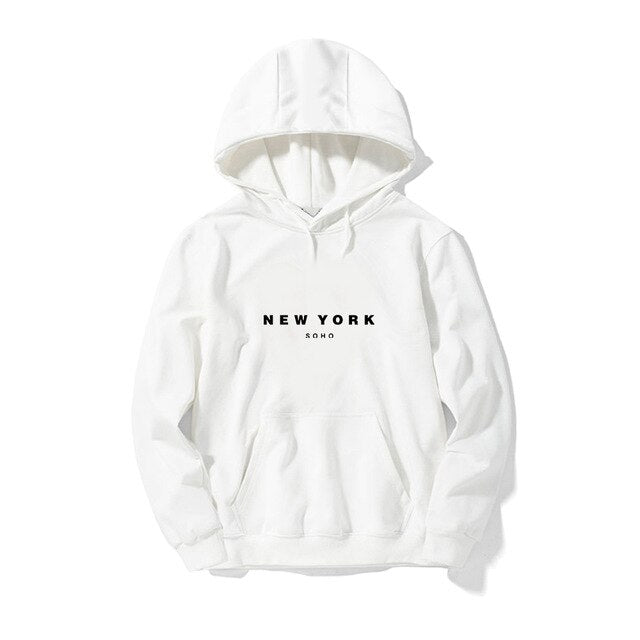 Soho New York Sweatshirt Hipster Hoodie for Men