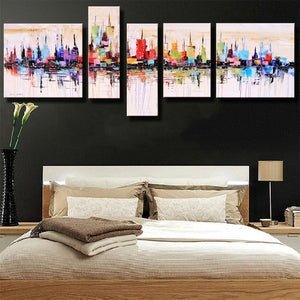 Hand-painted Modern Abstract Oil Painting Canvas Home Decor