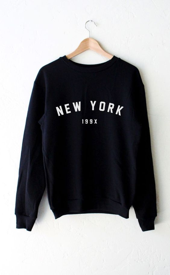 The New York Sweatshirt 199x Long Sleeve Jumper Women