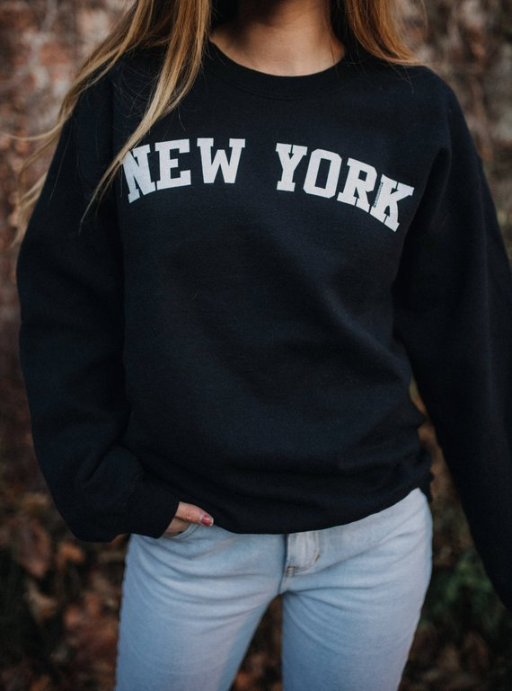 Women's College New York Sweatshirt