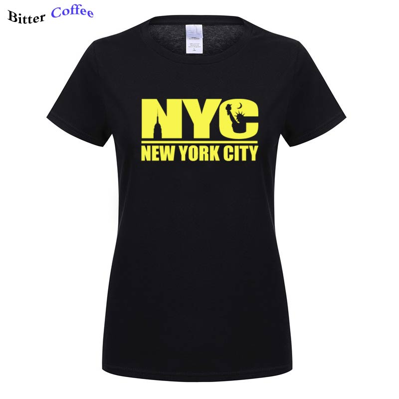 New York City Large Print Women T-Shirt