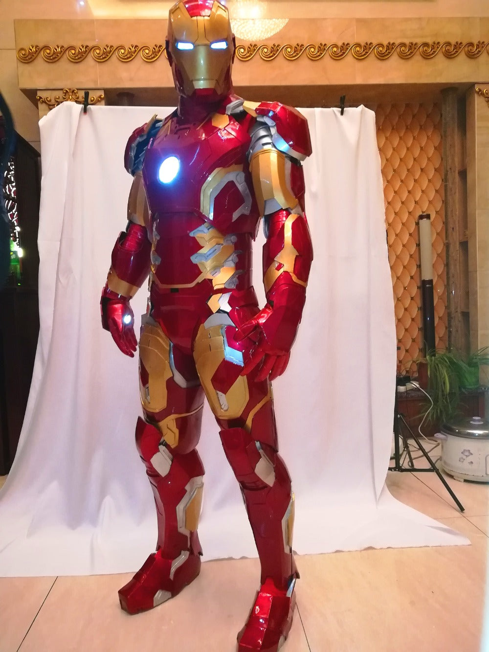 Iron Man MK43 Suit Iron Man Cosplay Costume  Wearable Armor