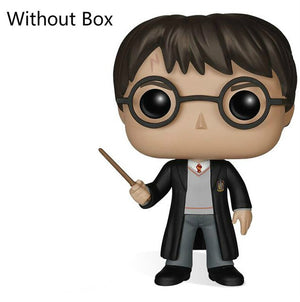 FUNKO POP Anime Harry Potter Collection Model Toys Luna Glasses Doll Movie Action Figure Kids Toys for Children