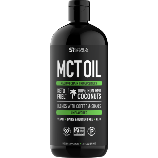 Premium MCT Oil - Sweet Sweat Canada