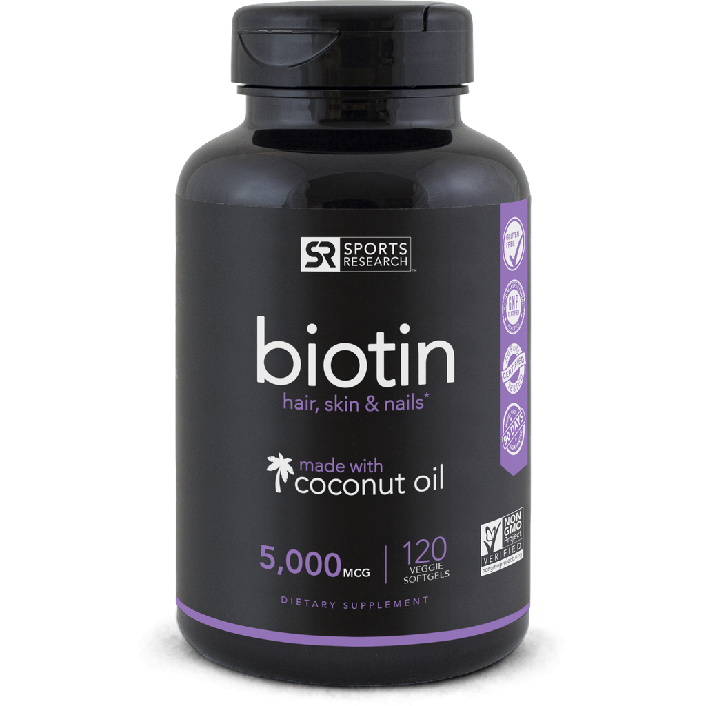 Biotin (5000mcg) - Sweet Sweat Canada Supplements