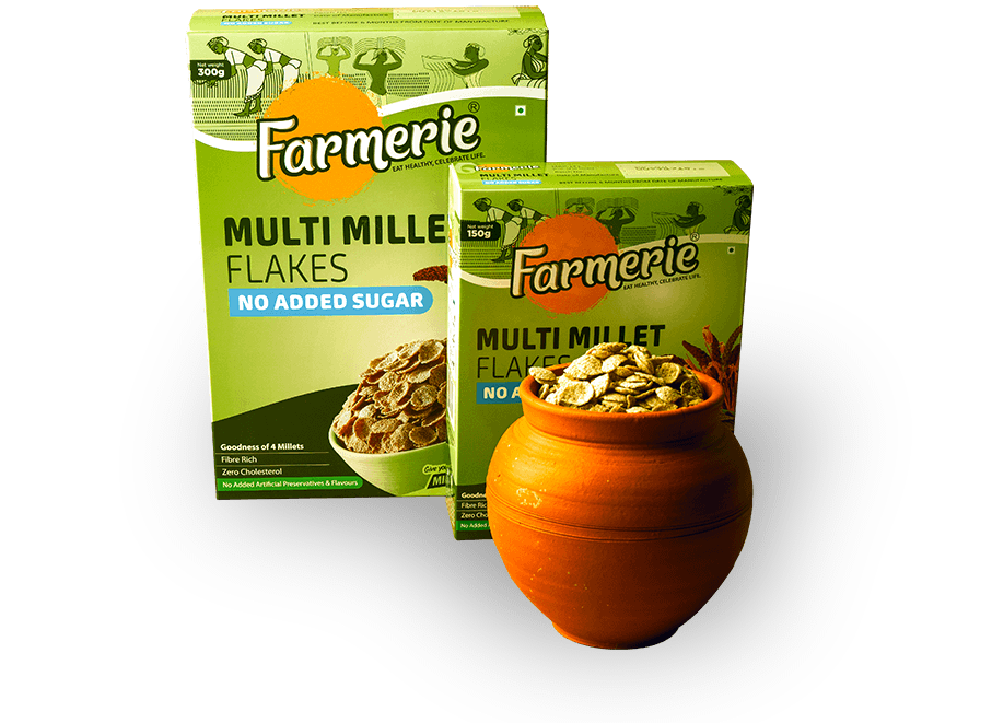 Multi Millet Flakes - No Added Sugar