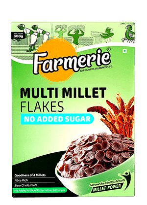 Multi Millet Flakes (No Added Sugar)