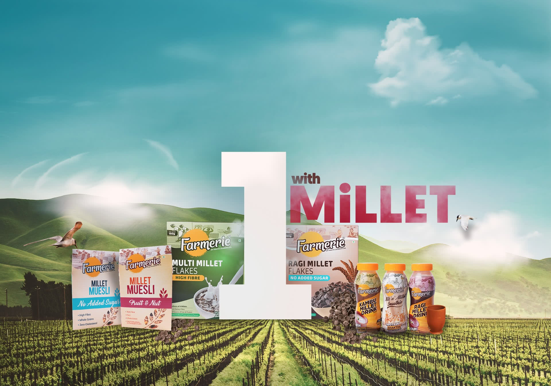 1 With Millet