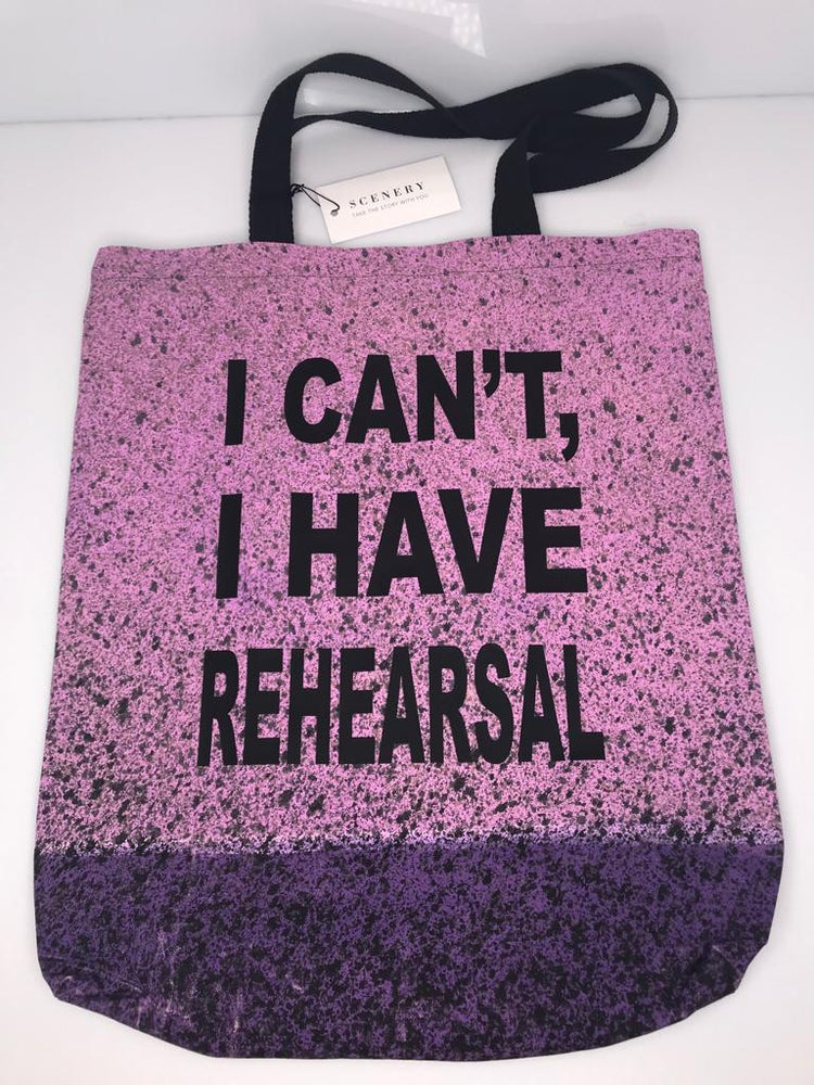 """Rehearsal"" Tote - Pink - SceneryBags"