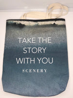 """Story"" Tote - Cardinal - SceneryBags"