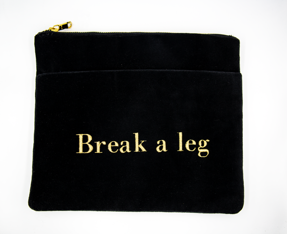 """Break a leg"" bag - SceneryBags"