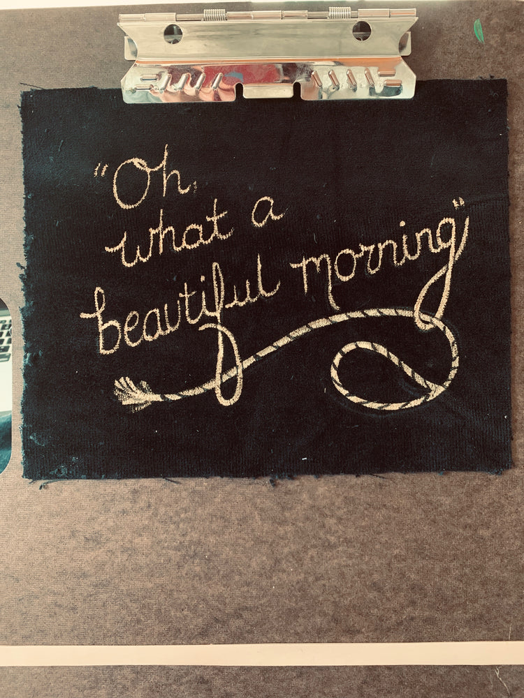 "Hand Painted ""Beautiful Morning"" Bag - SceneryBags"