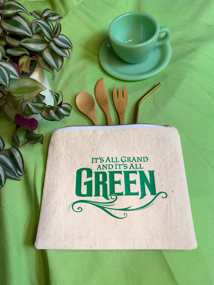 "WICKED Broadway, ""Grand & Green"" Bag - SceneryBags"