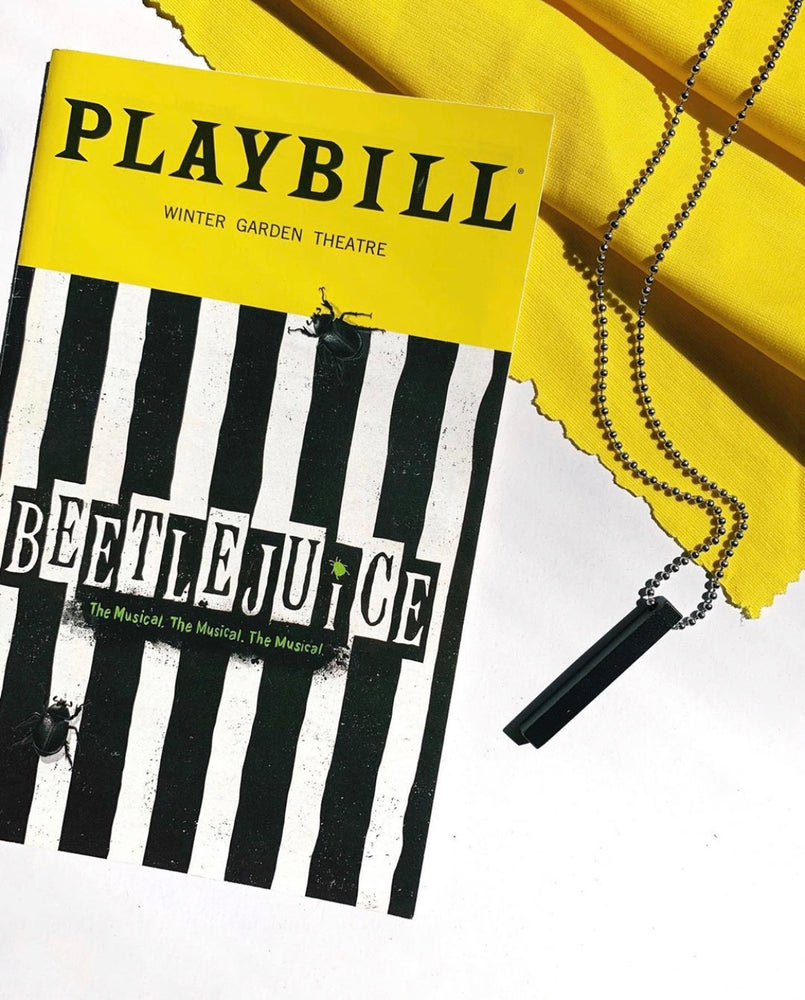 BEETLEJUICE the Necklace - SceneryBags
