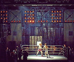 Rocky on Broadway - Fight Banner - Scenery
