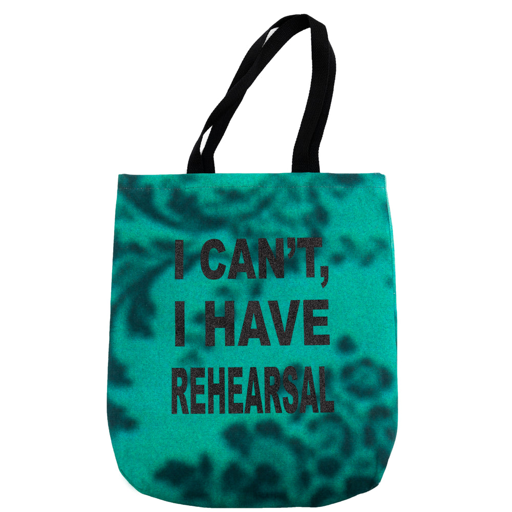 """Rehearsal"" Tote Green"