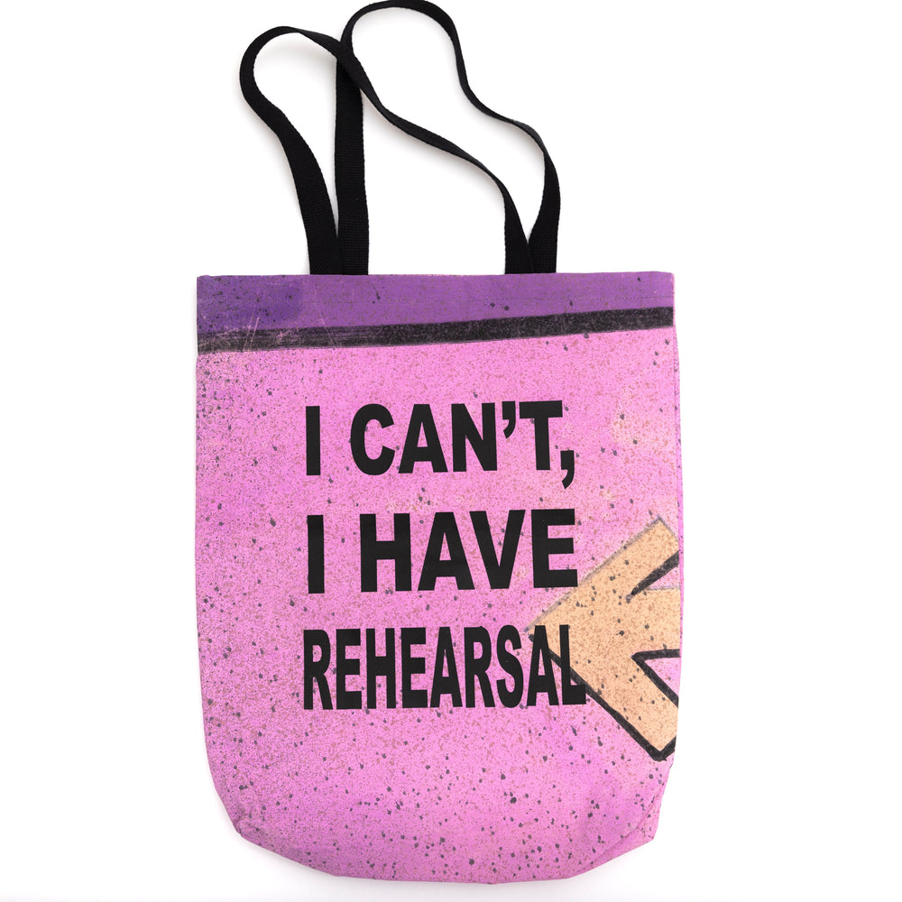 """Rehearsal"" Tote - Pink"