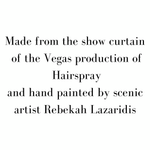 Hand Painted Hairspray - SceneryBags