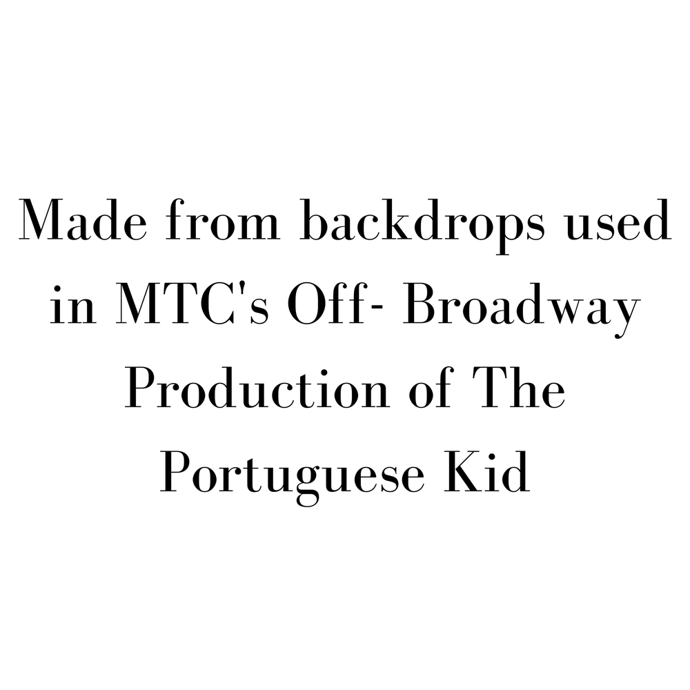 The Portuguese Kid - Blue - SceneryBags