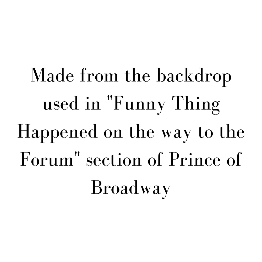 Prince of Broadway - SceneryBags