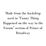 Prince of Broadway - Scenery