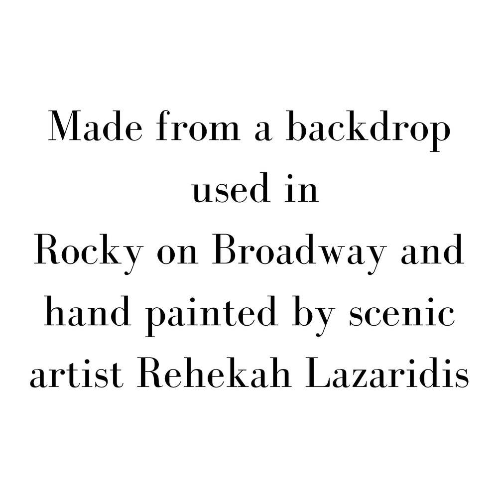Hand Painted Rocky Broadway - SceneryBags