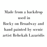 Hand Painted Rocky Broadway - Scenery