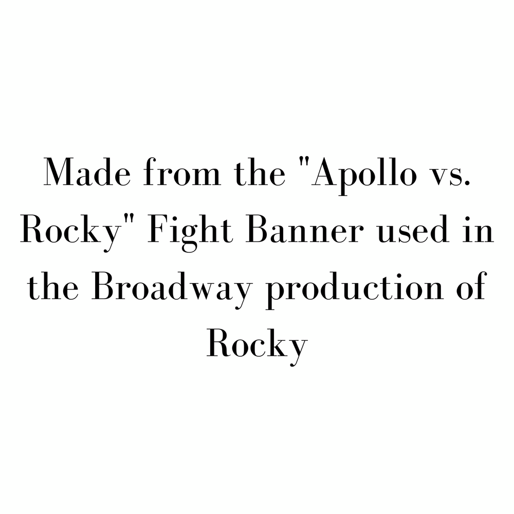 Rocky on Broadway - Fight Banner