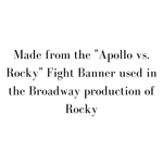Rocky on Broadway - Fight Banner - SceneryBags
