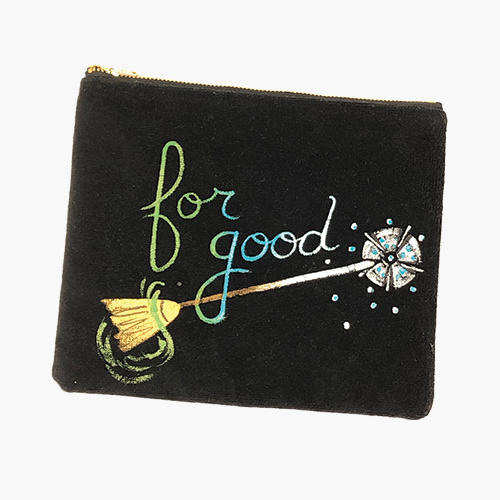 "Hand Painted ""For Good"" Bag"