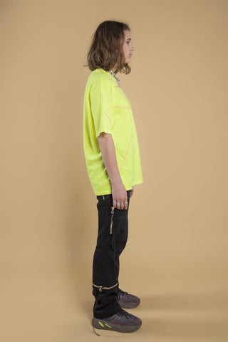 DROP1 / T-SHIRT-2 yellow