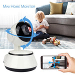 WiFi IP Camera Baby Monitor 720P HD Smart Baby Camera Audio Video Record Night Vision Remote Surveillance Home Security