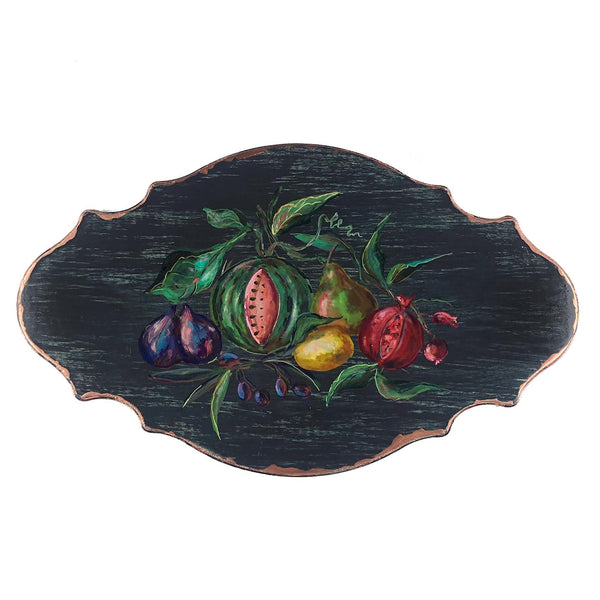 "Country Garden 20"" Wall Plaque"
