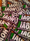 International Association of Haters Official 3.5 Inch Sticker