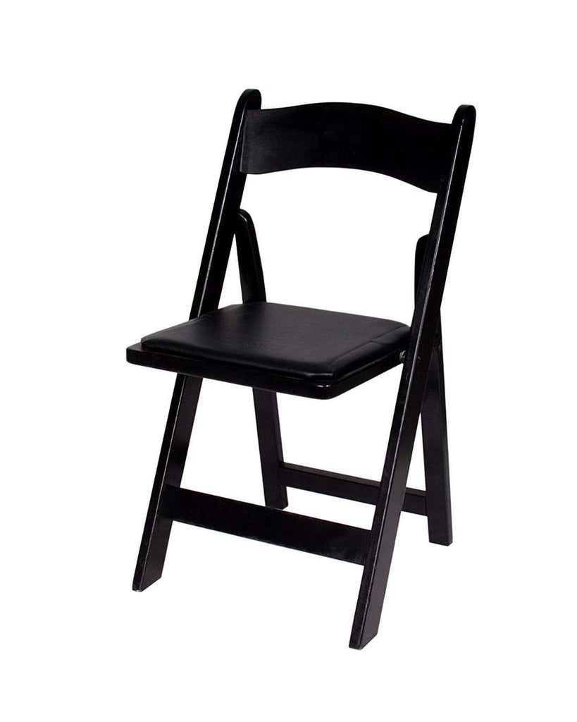 Black padded folding chairs - Wood Padded Folding Chairs Wood Padded Folding Chairs